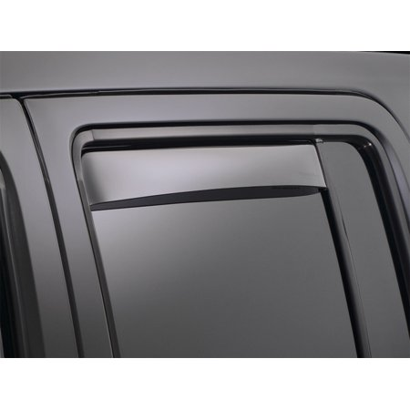 WeatherTech 08+ Chrysler Town & Country Rear Side Window Deflectors - Light