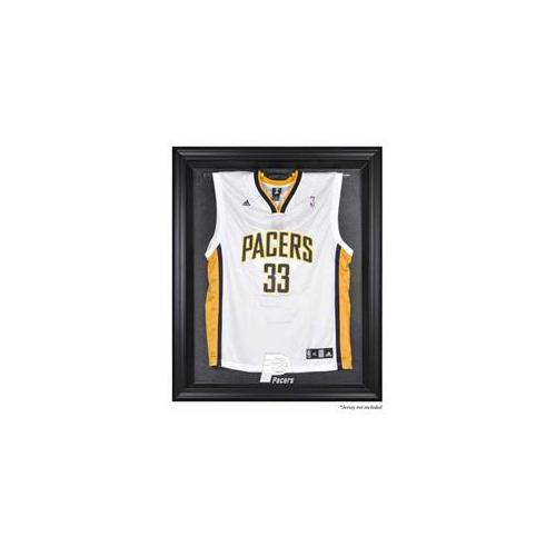 Mounted Memories MM-DISPJ9PACR Indiana Pacers Brown Framed Logo Jersey Display Case