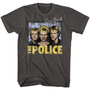 The Police British Rock Band Every Breath You Take Adult T-Shirt Tee