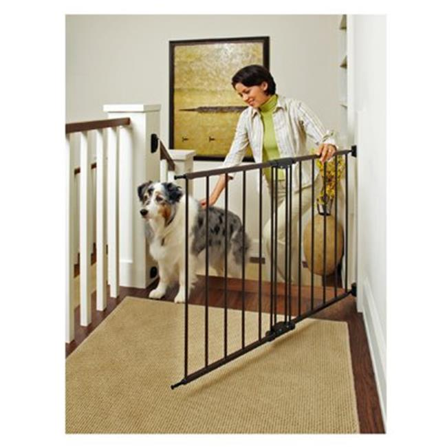 "OpenBox Supergate Easy Swing /& Lock Gate Bronze Fits Spaces between 28.68/"" to"