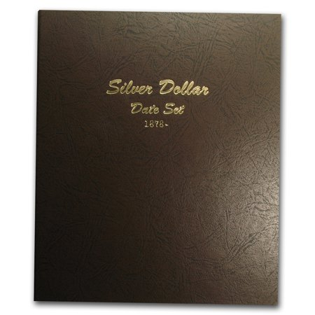Dansco Album  7172   Silver Dollar Date Set 1878 To Date