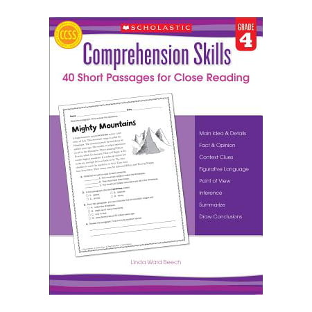 Comprehension Skills: Short Passages for Close Reading: Grade 4](Reading Passages Halloween)