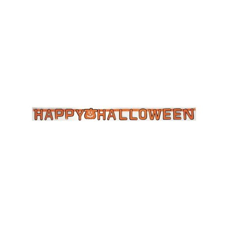 Happy Halloween Banner Rubies 1272, One Size