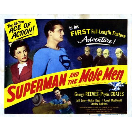 Superman And The Mole Men Movie Poster Masterprint