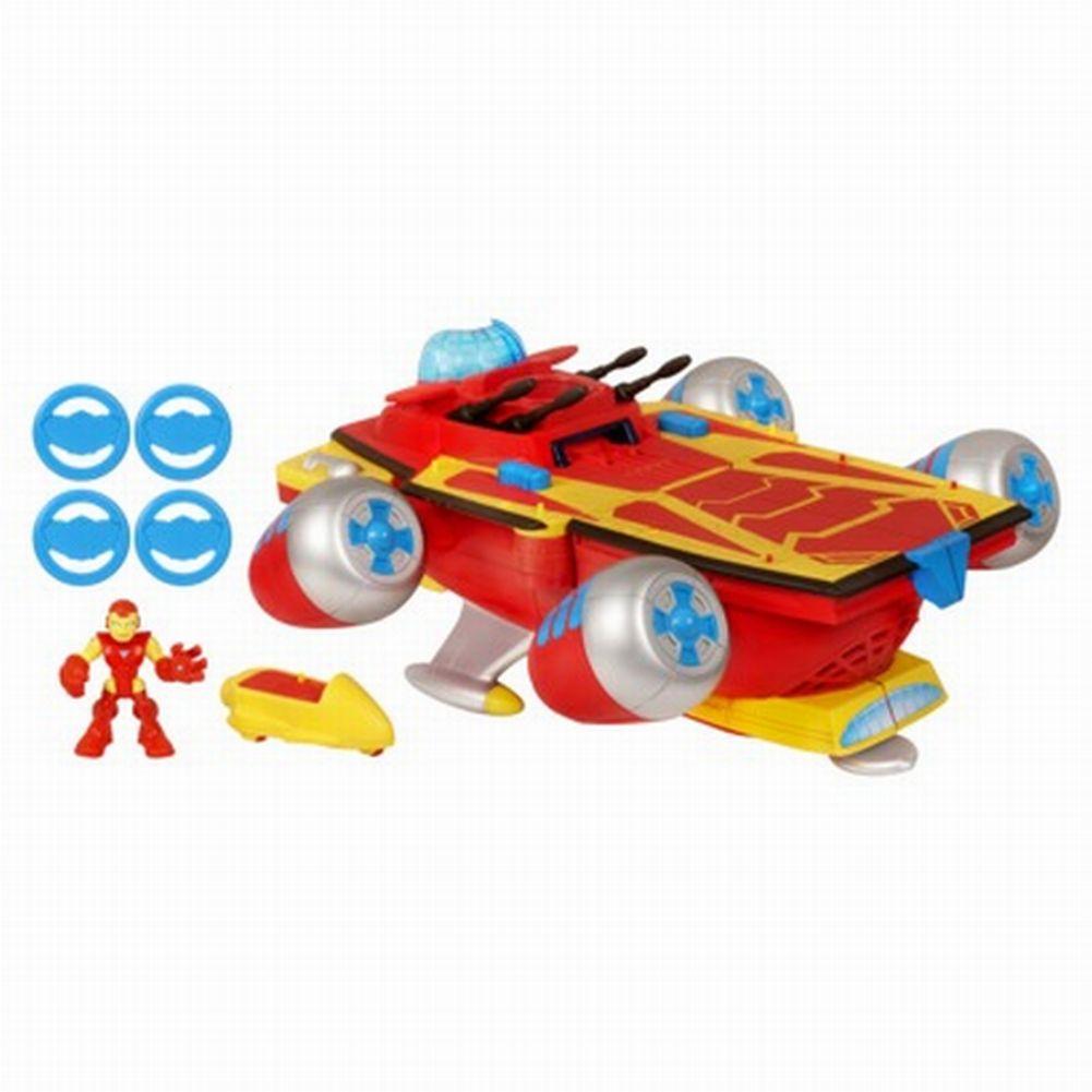 Playskool Marvel Iron Man Electronic Super Hero Command Center & Ironman Figure