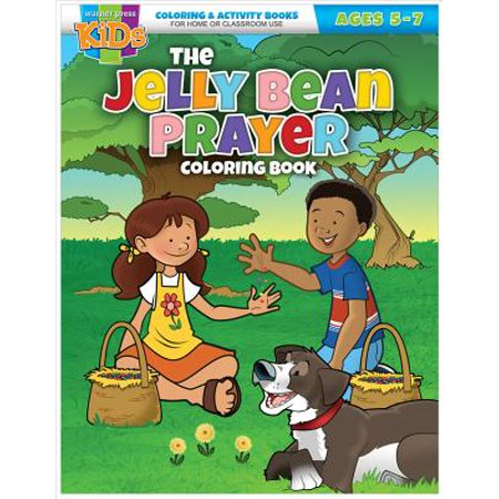 Kid/Fam Ministry Color and ACT Bks - Seasonal - The Jelly Bean Prayer - Jelly Bean Prayer