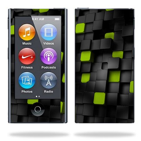 Mightyskins Protective Skin Decal Cover For Apple Ipod Nano 7G  7Th Generation  Mp3 Player Wrap Sticker Skins Cubes