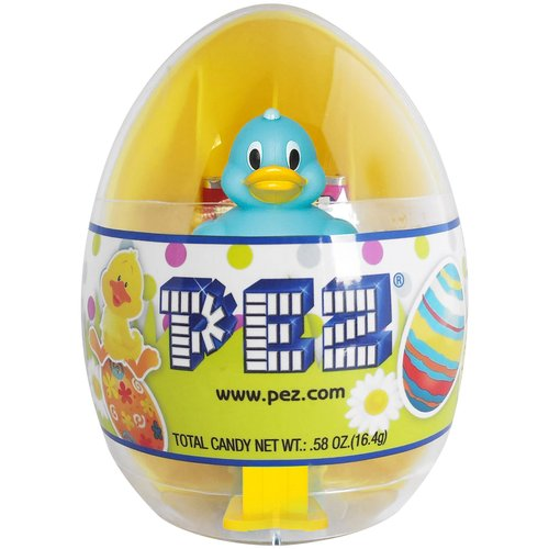 PEZ Duck in Easter Egg Candy & Dispenser, .58 oz