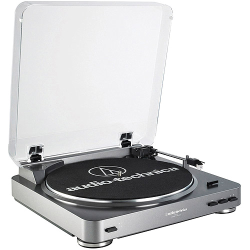 AudioTechnica AT-LP60 Fully Automatic Belt-Drive Turntable by Audio-Technica