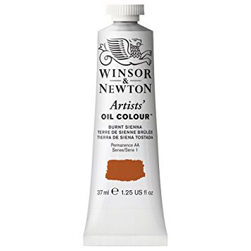 Mixing Burnt Sienna - Winsor & Newton - Artists' Oil Color - 37ml Tube - Burnt Sienna