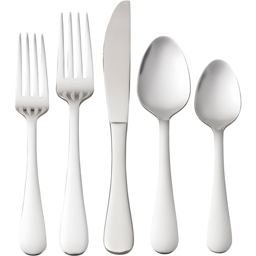 Better Homes and Gardens 20-Piece Kieran Flatware Set