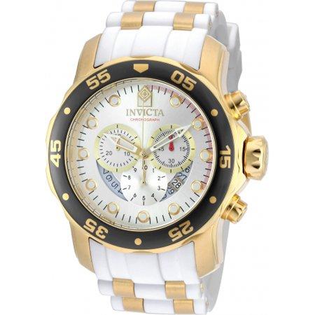 Men's 20292 Pro Diver Quartz Chronograph Silver Dial Watch ()