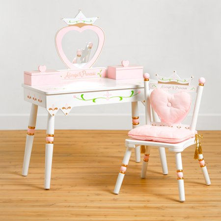 Wildkin Princess Vanity Table & Chair Set ()