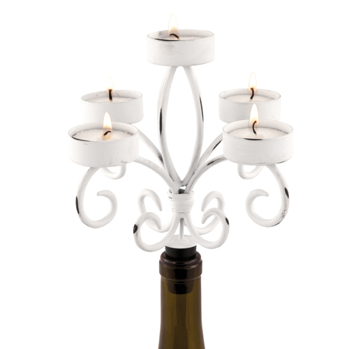 Country Cottage: Shabby Chic Candelabra by True Brands
