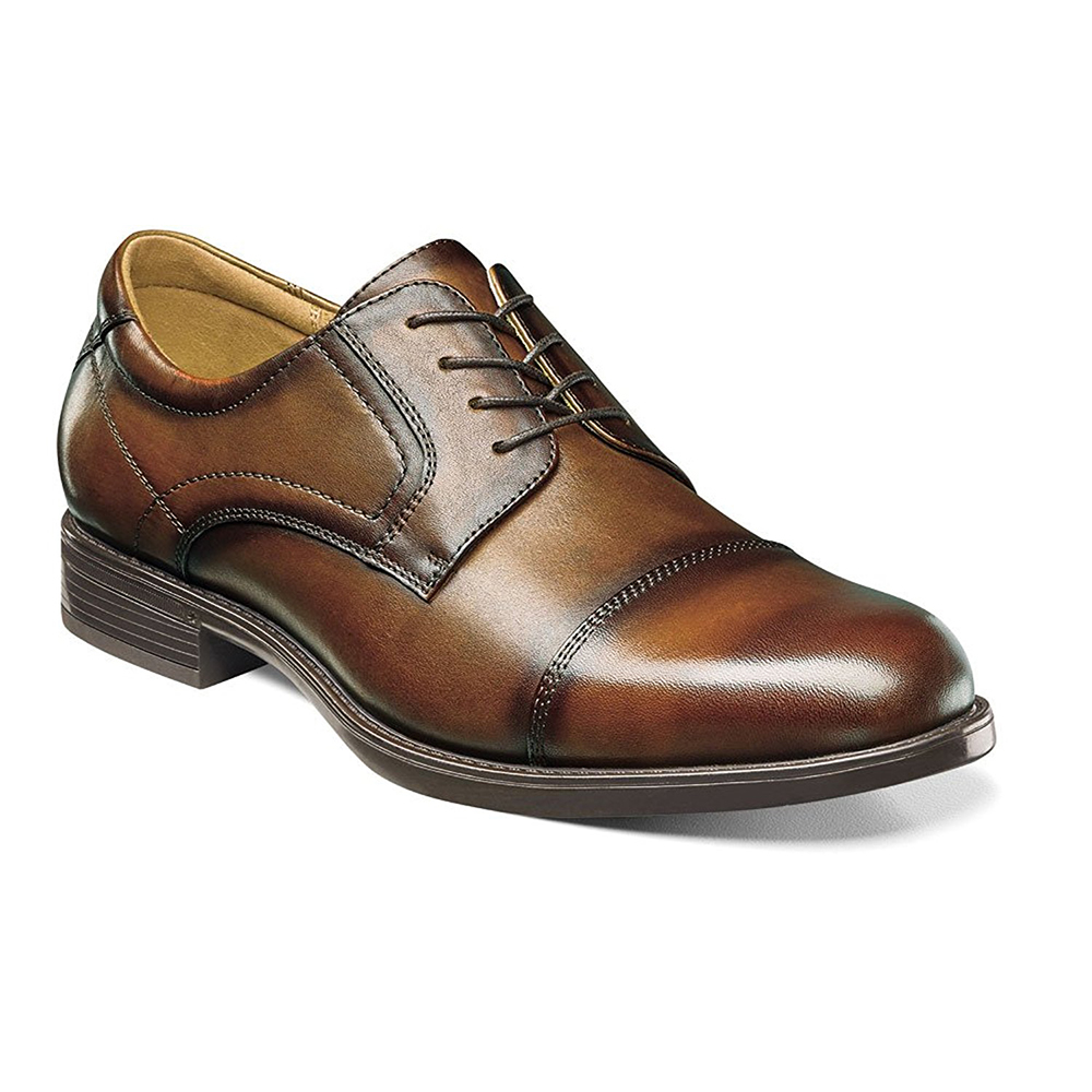 Florsheim Mens Midtown Cap Toe by Florsheim