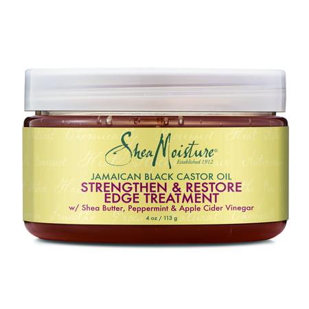 SheaMoisture Jamaican Black Castor Oil Strengthen & Restore Edge Treatment, 4 (Shea Moisture Jamaican Black Castor Oil Masque Review)