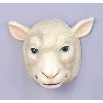 PLASTIC ANIMAL MASK-SHEEP - Plastic Masks