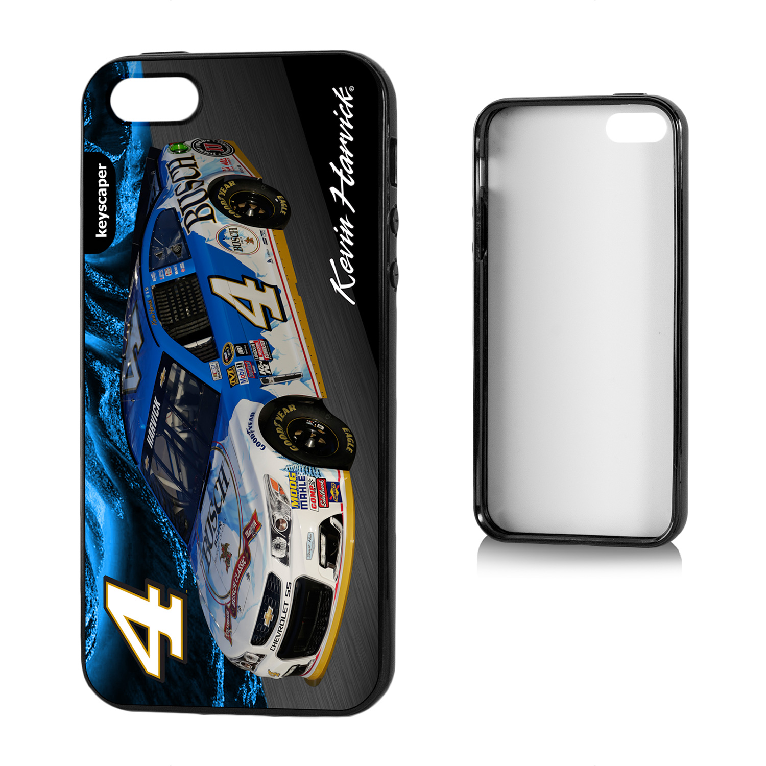 Kevin Harvick 4 Busch Apple iPhone 5/5S Bumper Case by Keyscaper