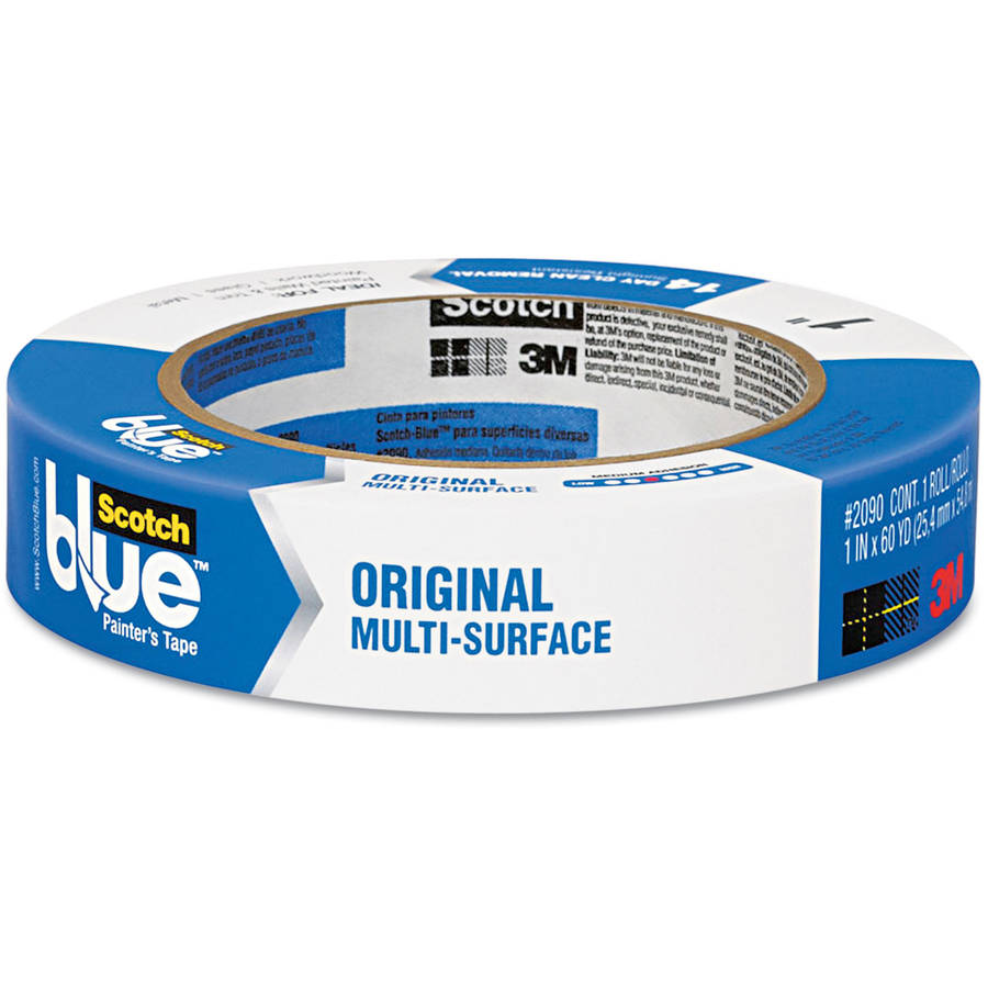 ScotchBlue Painter's Tape Original Multi-Use, .94in x 60yd(24mm x 54,8m