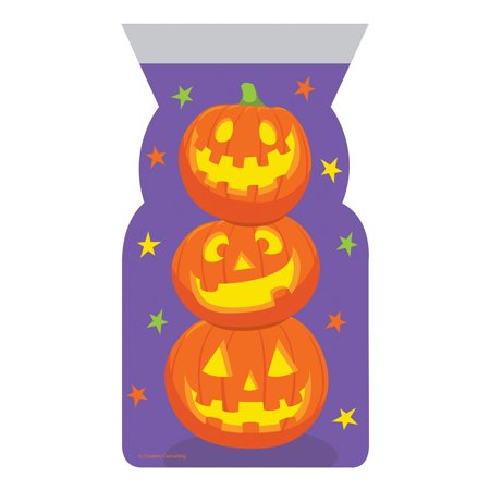 Stacked Pumpkins Favor Bags, 20 count
