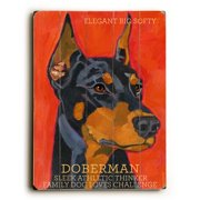 Artehouse LLC Doberman by Ursula Dodge Graphic Art Plaque