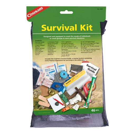 Click here to buy Coghlans Survival Kit.
