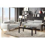Samsun 2-piece Living Room Set Grey