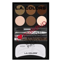 L.A Colors I Heart Makeup Brow Palette - Option : Light to Med
