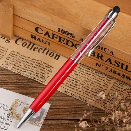 Creative Crystal Metal Pen Rotary Ballpoint Pen Pen Pen Hotel Gift PenA