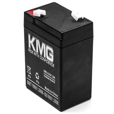 KMG 6V 5Ah Replacement Battery for Surelite 626 6712 899953 8XJBRA C18A6 - image 1 of 3