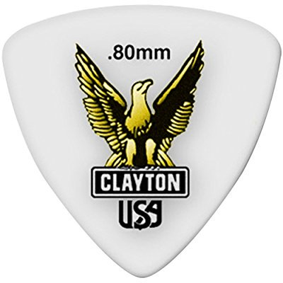 Clayton Thin Picks (Clayton Picks Acetal RT80/12 Guitar Picks Multi-Colored)