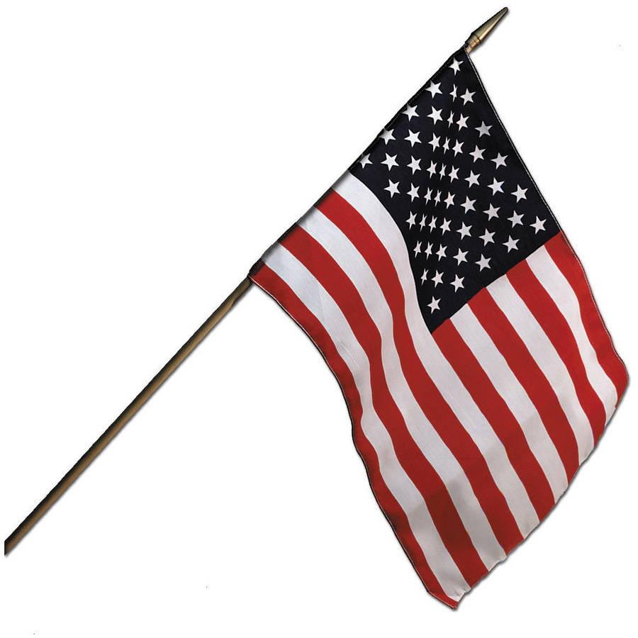 """Camco 45491 12"""" x 18"""" U.S. Flag"""