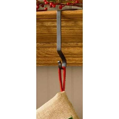Metal Stocking Hanger Holder Black or Red by Park