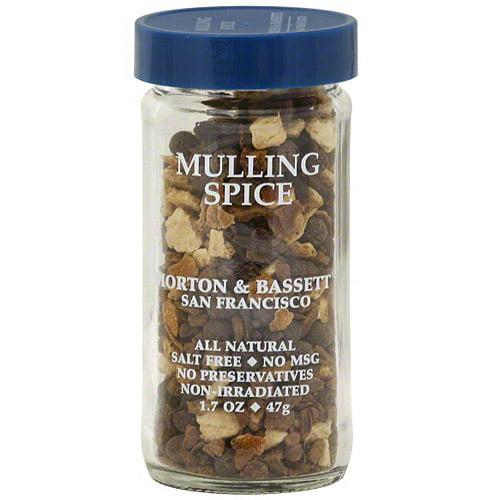 Morton & Bassett Spices Mulling Spice, 1.7 oz (Pack of 3)