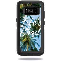 Skin For OtterBox DefenderSamsung Galaxy S8 Case - lifes good | Protective, Durable, and Unique Vinyl Decal wrap cover | Easy To Apply, Remove, and Change Styles