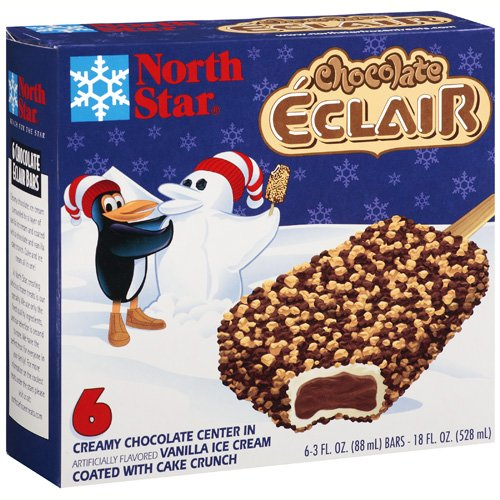 North Star Chocolate Eclair Bars, 6ct