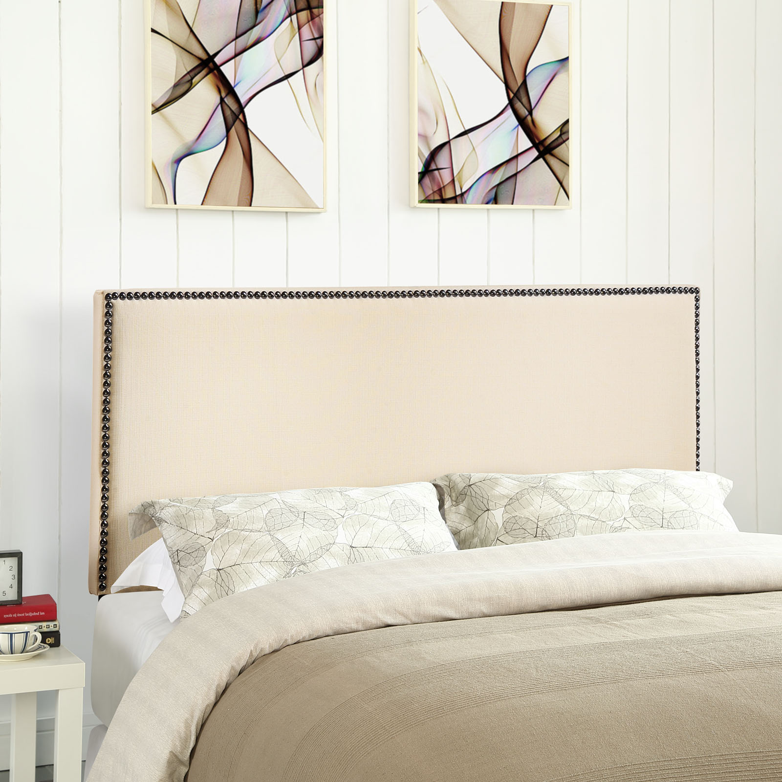 Modway Region Nailhead Headboard, Multiple Sizes and Colors