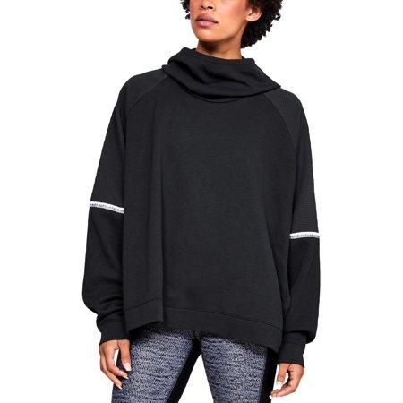 Under Armour Womens Fitness Performance Sweatshirt Black L
