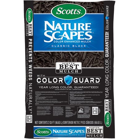 db398b0180 Scotts Nature Scapes Color Enhanced Mulch Classic Black