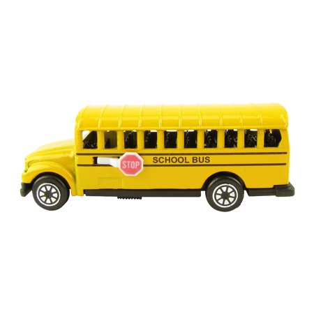 1:87 Scale HO Gauge Miniature School Bus Model Train Accessory Pencil Sharpener (American Model Builders Ho Scale)