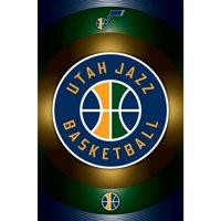 Utah Jazz 22'' x 34'' Logo Team Poster - No Size