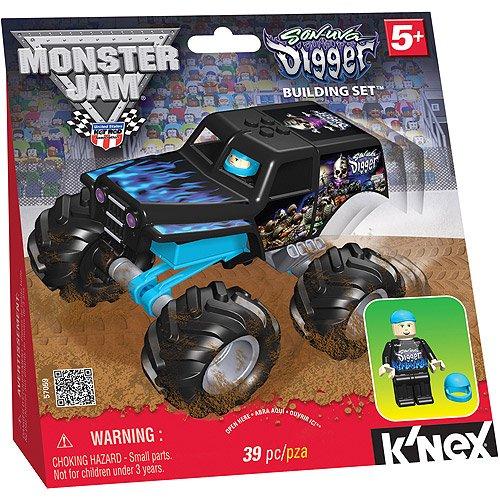 Knex Monster Jam Son Uva Digger Building Set Walmart
