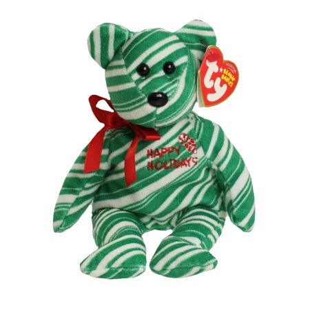 TY Beanie Baby - 2007 HOLIDAY TEDDY (Green Version) (8.5 inch)