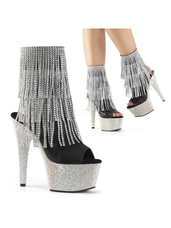 BEJ1024RSF-7/BPU/SRS Pleaser Platforms Ankle/Mid-Calf Boots Size: 10