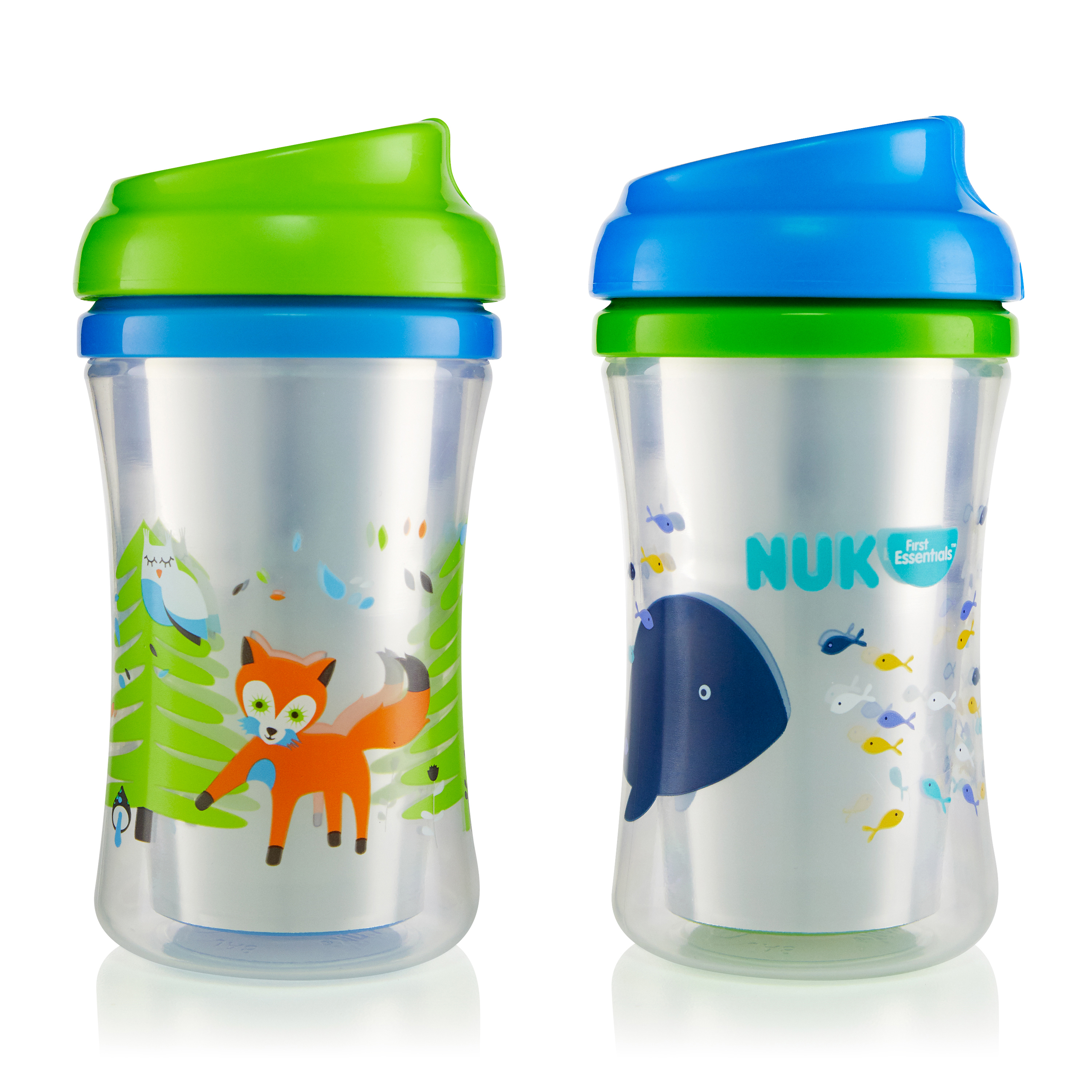 First Essentials by NUK Insulated Cup-like Rim Sippy Cup, 9 oz., 2-Pack by NUK