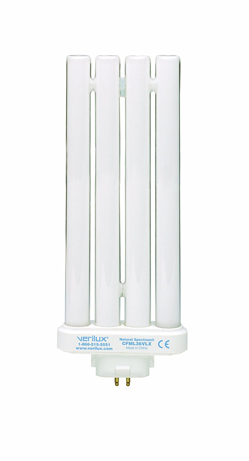 36W Natural Spectrum Replacement Compact Bulb CFML36VLX By Verilux Ship from US by