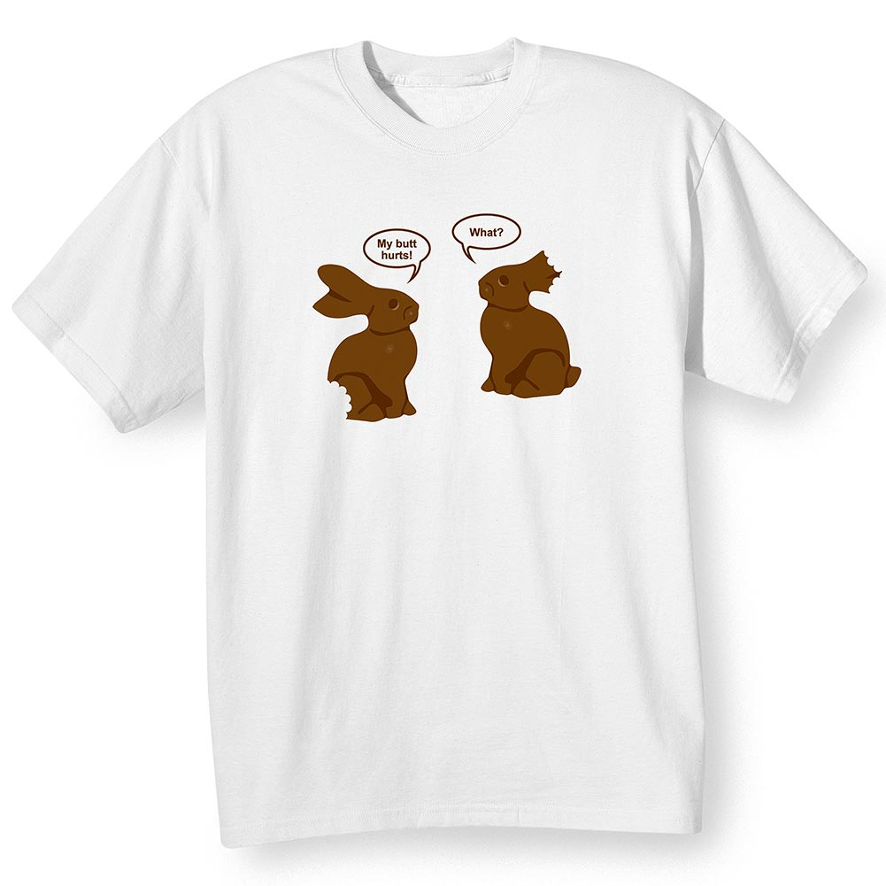 Women's Talking Chocolate Bunnies Shirt