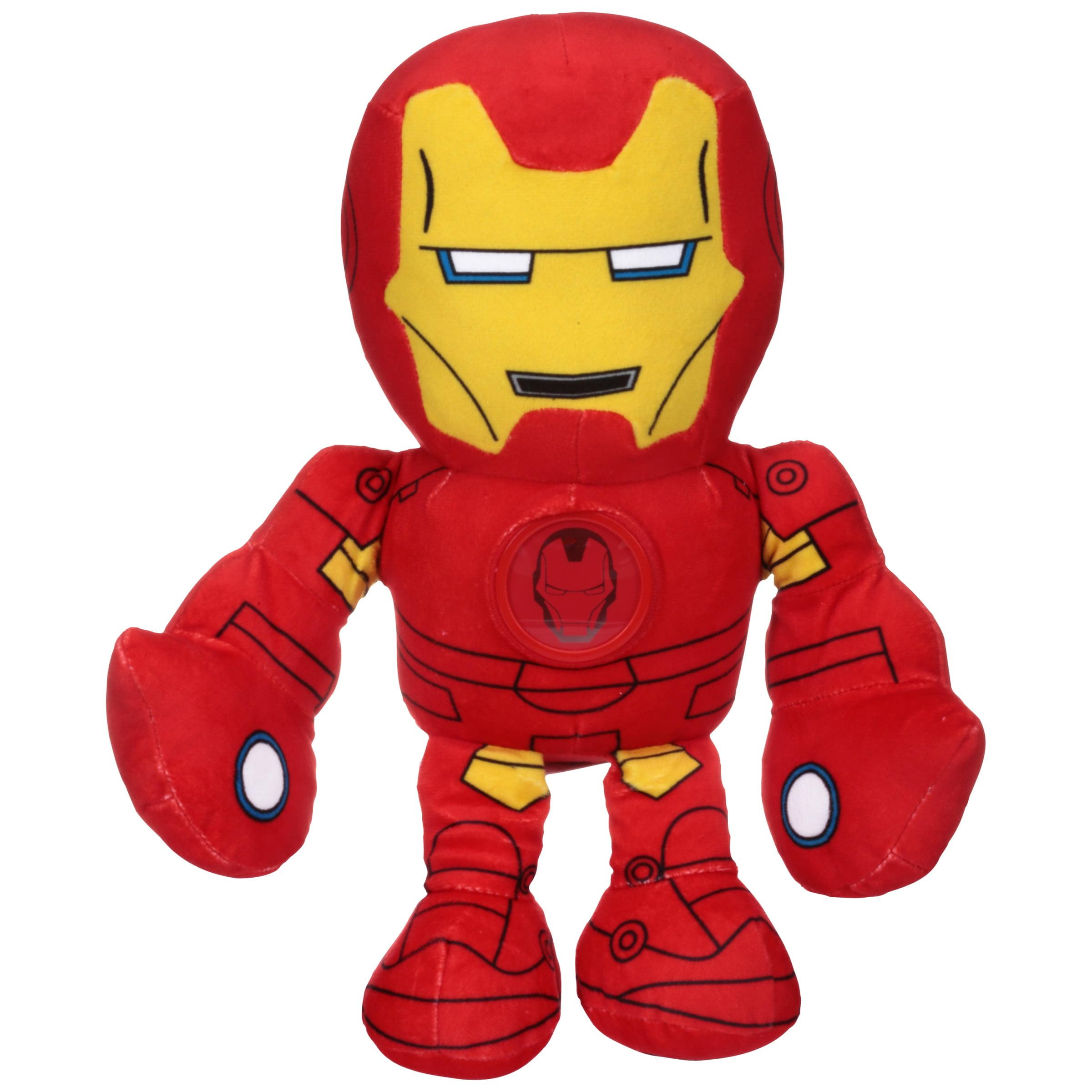 Marvel Super Hero Adventures Iron Man Bedtime Buddies Toy