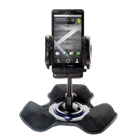 Car / Truck Vehicle Holder Mounting System for Motorola DROID X2 Includes Unique Flexible Windshield Suction and Universal Dashboard Mount Options