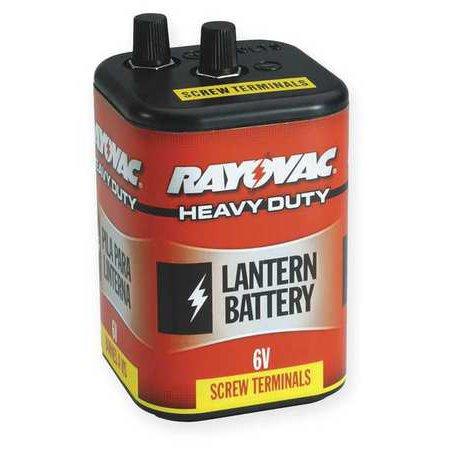 RAYOVAC 945R4 Lantern Battery, Industrial, 6V, Screw Term